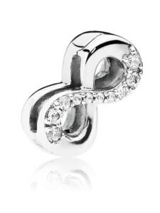 Clip-Charm -Infinity- Pandora Silberfarben