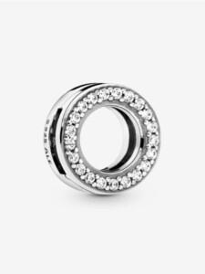 Clip-Charm -Kreis- Pandora Silberfarben