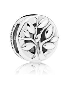 Clip-Charm -Lebensbaum- Pandora Silberfarben