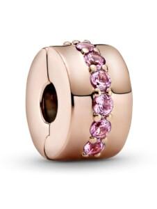 Clip-Charm Pandora Rosé