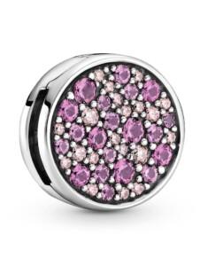 Clip-Charm – Pavé – Pandora Reflexions – Pandora Silberfarben