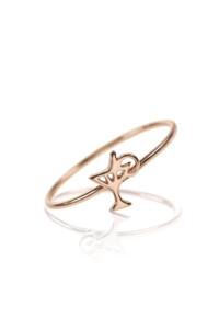 COCKTAIL Ring rosé vergoldet
