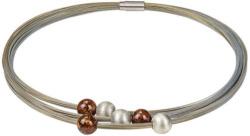 Collier 'Amber-Pearls', Collier, Schmuck
