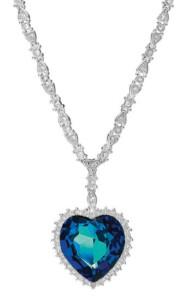 Collier 'Blue Heart of Ocean', Collier, Schmuck