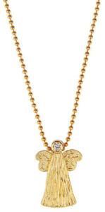 Collier 'Goldener Engel', Collier, Schmuck