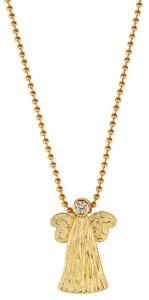 Collier 'Goldener Engel', Schmuck