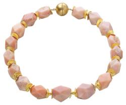 Collier 'Pink Opal', Collier, Schmuck