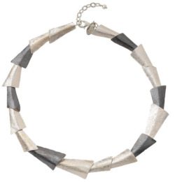 Collier 'Silver Triangle', Collier, Schmuck