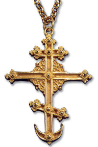 Collier 'St. Petersburger Kreuz', Collier, Schmuck