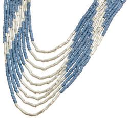 Collier 'Tayrona Blau', Collier, Schmuck