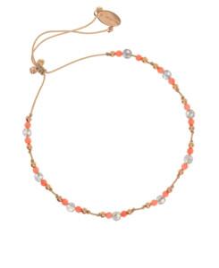 LABRADORITE|Armband Coral