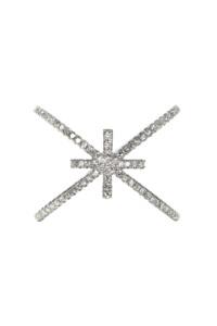 CROSS Diamant Doppelring Weißgold