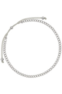 CURB CHAIN Armband Sterling Silber