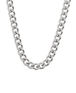 CURB CHAIN|Halskette Silber