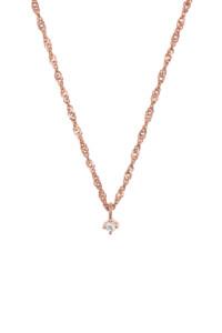 DAINTY TOPAZ Halskette rosé vergoldet