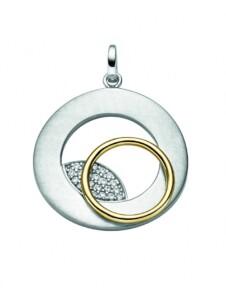 Damen 925 Silber Anhänger mit Zirkonia 1001 Diamonds silber