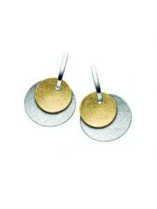 Damen 925 Silber Ohrringe / Ohrhänger 1001 Diamonds silber