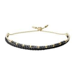 Damen Armband Multi Strand aus Edelstahl und Leder
