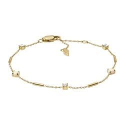 Damen Armband Opal Blossom aus vergoldetem Edelstahl