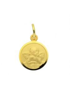 Damen Goldschmuck 585 Gold Anhänger Amor Ø 10 mm 1001 Diamonds gold