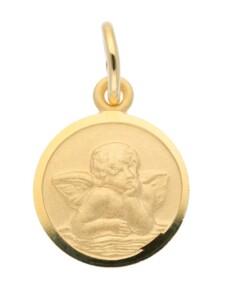 1001 Diamonds Damen Goldschmuck 585 Gold Anhänger Amor Ø 10 mm 1001 Diamonds gold