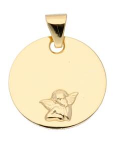 1001 Diamonds Damen Goldschmuck 585 Gold Anhänger Amor Ø 12 mm 1001 Diamonds gold