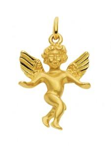 Damen Goldschmuck 585 Gold Anhänger Engel 1001 Diamonds gold