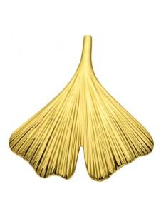 Damen Goldschmuck 585 Gold Anhänger Ginkoblatt 1001 Diamonds gold