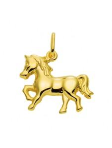 Damen Goldschmuck 585 Gold Anhänger Pferd 1001 Diamonds gold