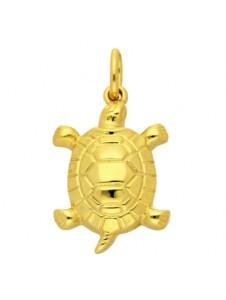 Damen Goldschmuck 585 Gold Anhänger Schildkröte 1001 Diamonds gold