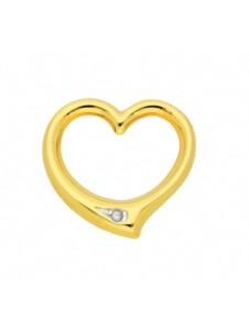 Damen Goldschmuck 585 Gold Anhänger Swingheart mit Diamant 1001 Diamonds gold