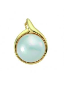 Damen Goldschmuck 585 Gold mit Mabeperle Ø 16,1 mm 1001 Diamonds gold