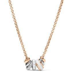 Damen-Halskette von Fossil JF 01122 998