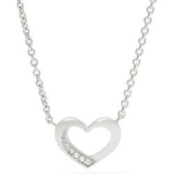 Damen-Halskette von Fossil Valentine Silber JFS 00263 040