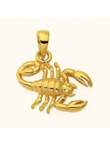 Damen & Herren Goldschmuck 585 Gold Sternzeichen Anhänger Skorpion 1001 Diamonds gold