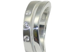 Damen-Ring von Fossil JF13313040