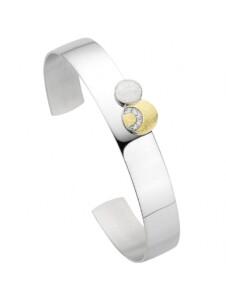 Damen Schmuck Armband aus 925 Silber und Zirkonia One Element gold