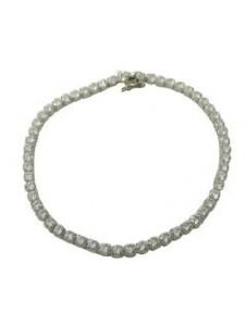 Damen Schmuck Armband aus 925 Silber Zirkonia One Element silber