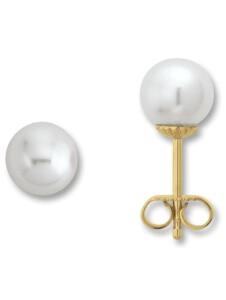 Damen Schmuck Ohrringe / Ohrstecker aus 585 Gelbgold One Element gold