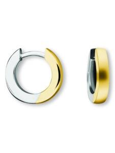 Damen Schmuck Orhringe / Creolen aus 585 Gelbgold Ø 12,0 x 2,0 mm One Element gold