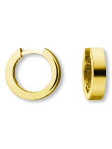 Damen Schmuck Orhringe / Creolen aus 585 Gelbgold One Element gold