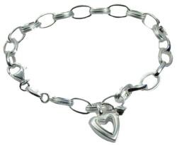 Damenarmkette von Fossil Valentine Silber JF13979