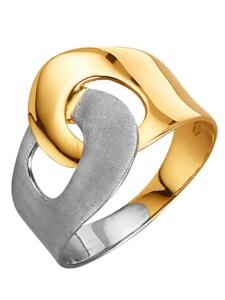 Damenring bicolor Diemer Gold Multicolor