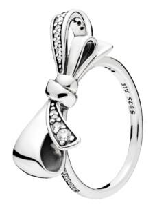 Damenring -Brillanter Bogen- Pandora Weiß