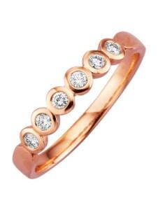Damenring Diemer Diamant Rosé