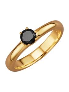 Damenring Diemer Diamant Schwarz