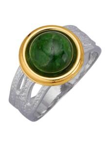 Damenring Diemer Farbstein Grün