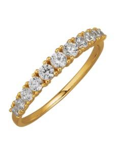 Damenring Diemer Gold Weiß