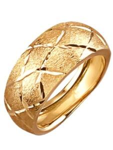 Damenring in Gelbgold 585 Diemer Highlights Gelb