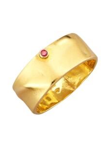 Damenring mit Diamant Diemer Diamant Gelbgoldfarben